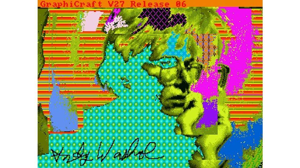 Andy Warhol, Digital Art Pioneer?