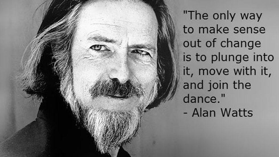 Alan Watts on Change