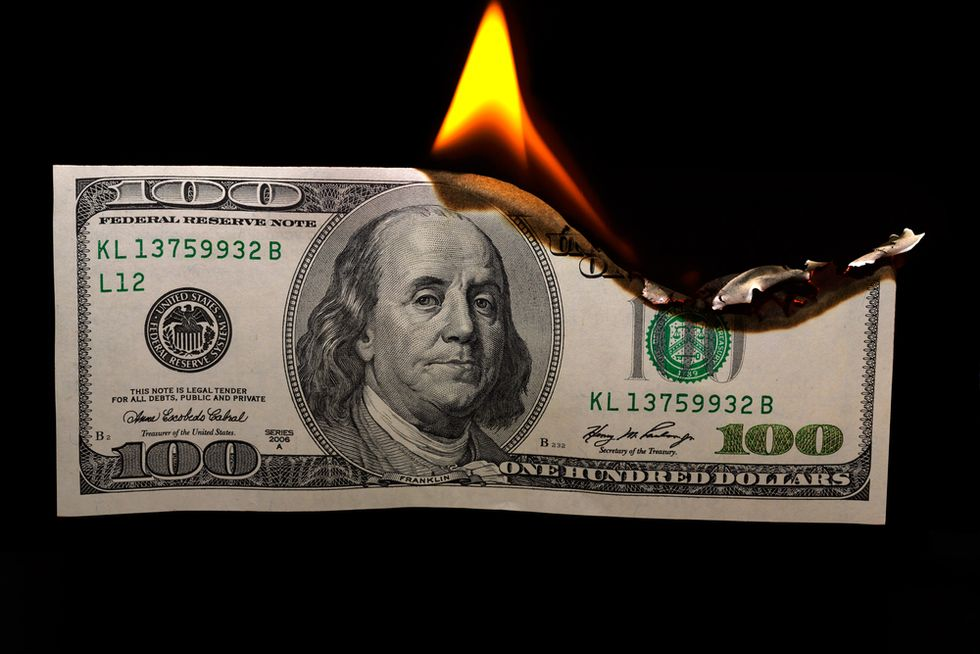 Burn A Dollar and Find Out Who Your Friends Are