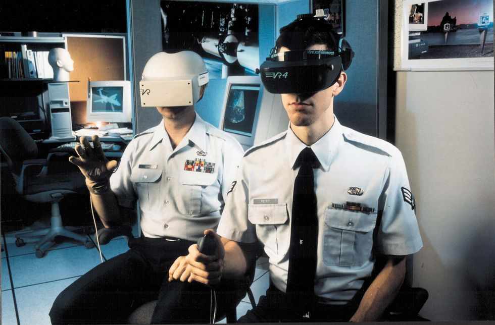 The Rise of Virtual Reality: From Campfire to Oculus