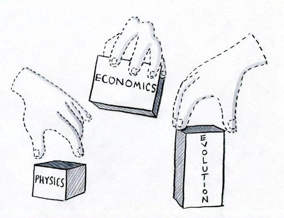 Shakespeare's Invisible Hand in Economics