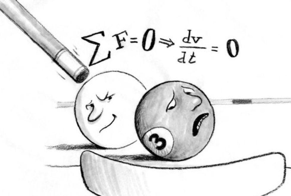 Psychophysics: Are We Biological Billiard Balls?