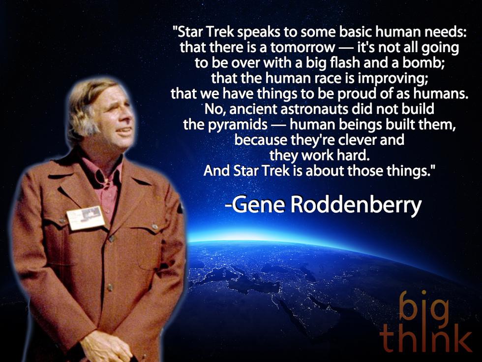 Gene Roddenberry on the Meaning of Star Trek