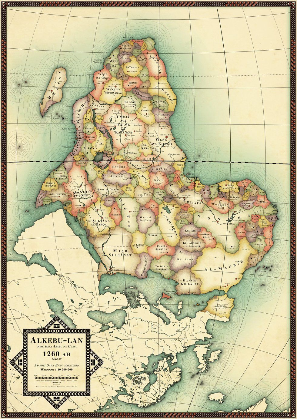 Map Of Africa Before Colonialism.Africa Uncolonized A Detailed Look At An Alternate Continent Big