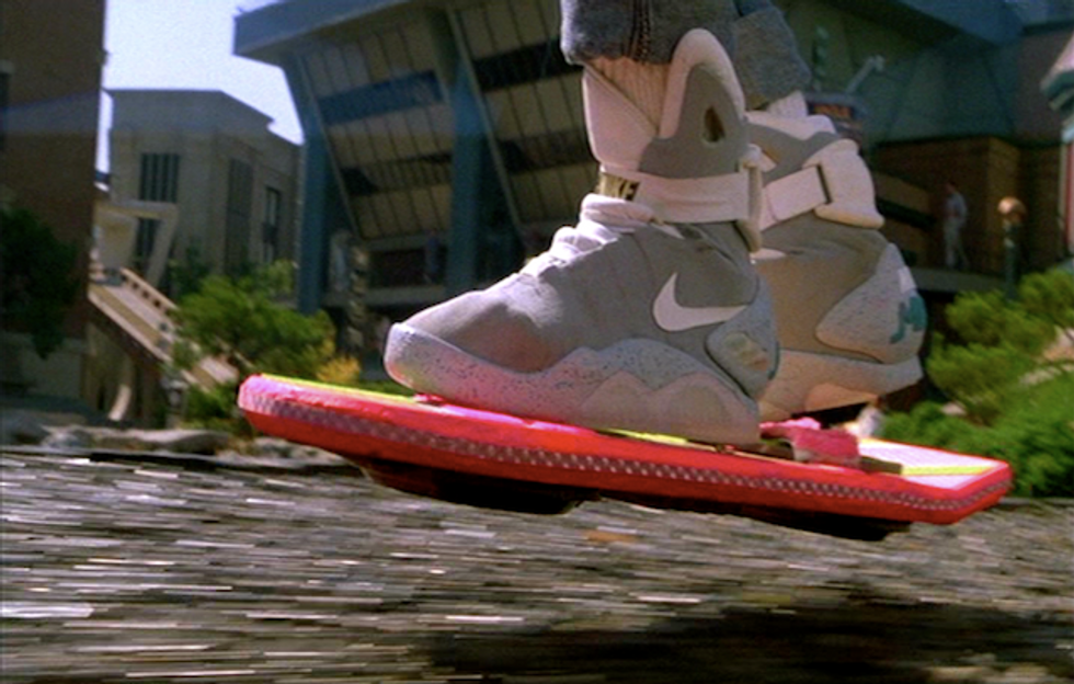 Today is the Future from 'Back to the Future Part II.' Where Is My Hoverboard?