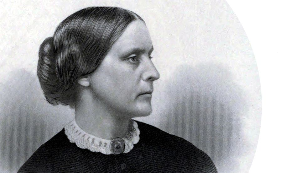 """Susan B. Anthony: """"Cautious, careful people... never can bring about a reform."""""""
