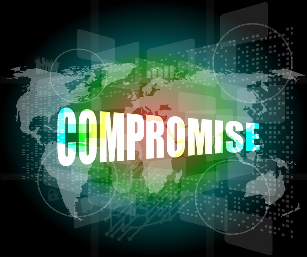 When is Compromise a Sign of Strength?