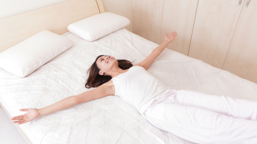 Meditate While Lying in Bed For More Restful Sleep
