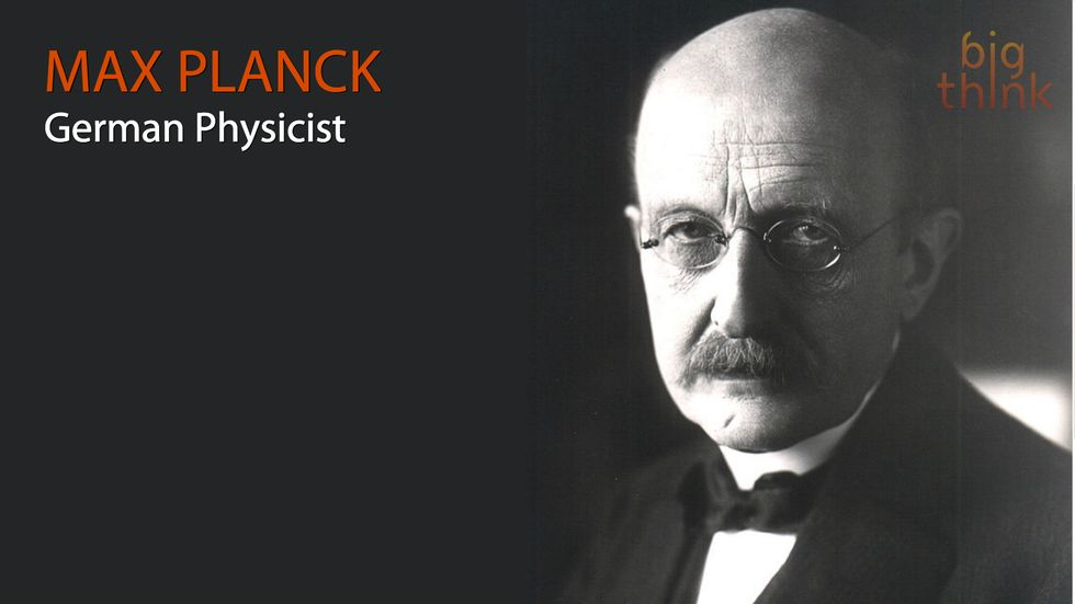 "Max Planck: ""I regard consciousness as fundamental..."""
