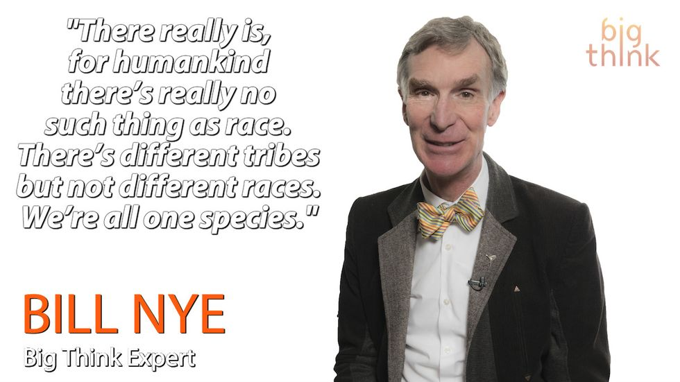 """Bill Nye: """"There's No Such Thing as Race"""""""