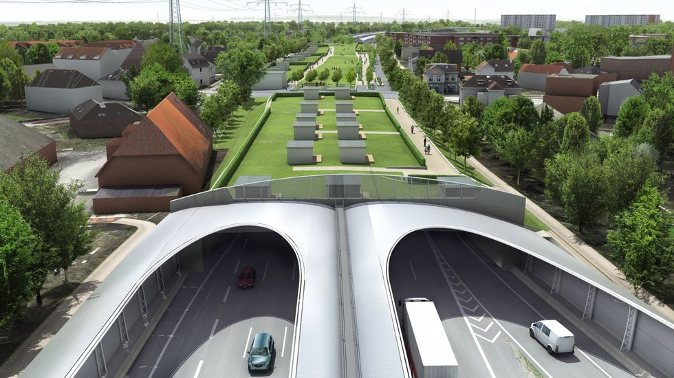Reuniting a Divided City with an Ambitious Covered Highway Project