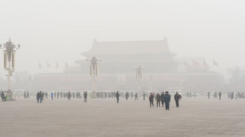 """Beijing's Mayor Says Pollution Makes City """"Unlivable"""""""