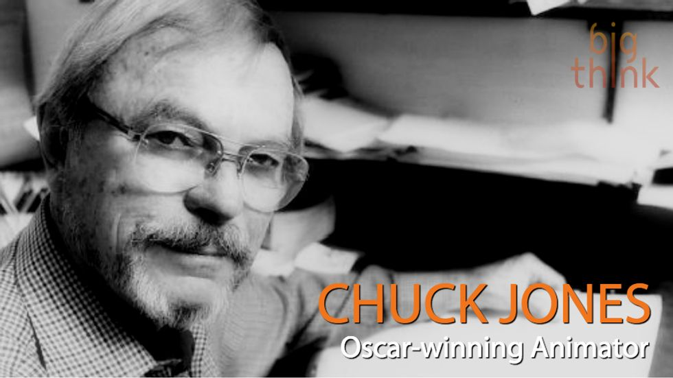 Chuck Jones on What Makes a Comedian Funny