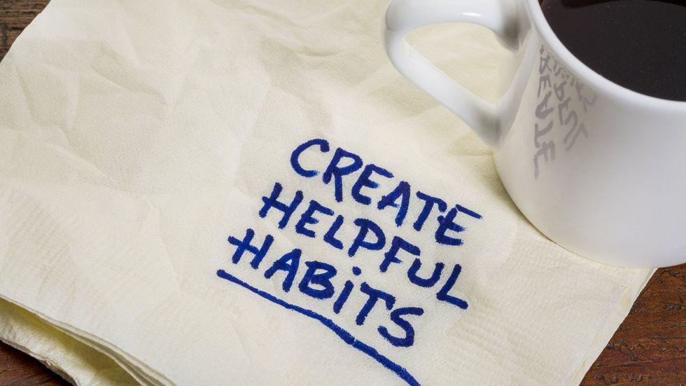 To Break Bad Habits, You Must Create New Ones