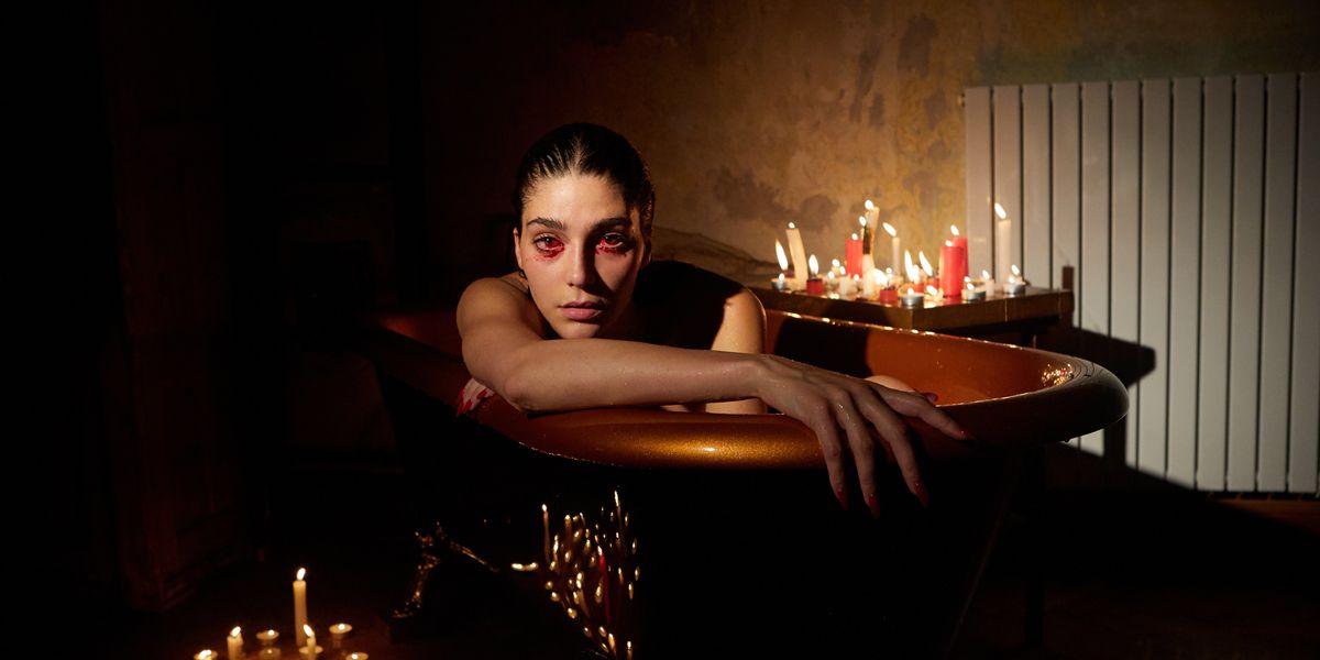 These Gothic Fashion Films Illuminate the Dangers of Big Pharma