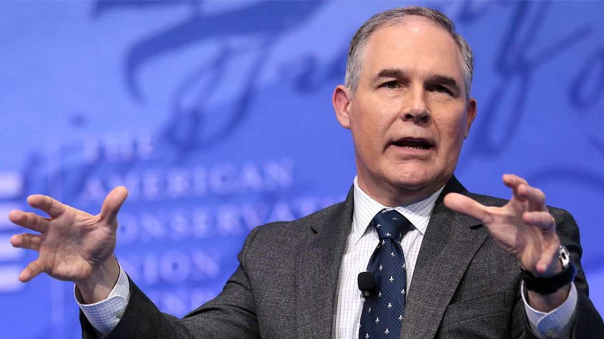 Former EPA Chief Pruitt in Talks to Become Coal Company Consultant