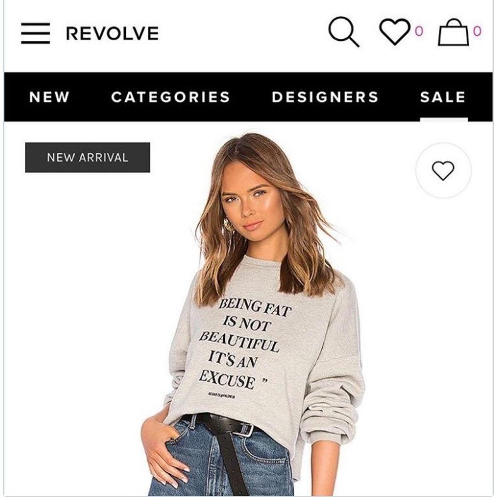 http://www.foxnews.com/lifestyle/2018/09/12/fashion-companys-fat-shaming-sweatshirt-sparks-instant-backlash.html
