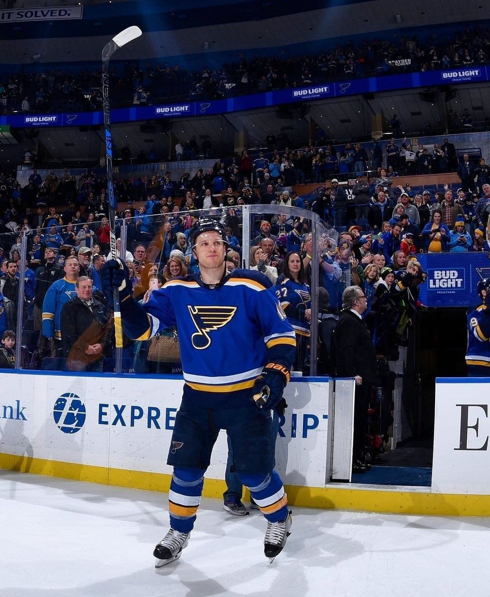Blues Looking To Contend This Season