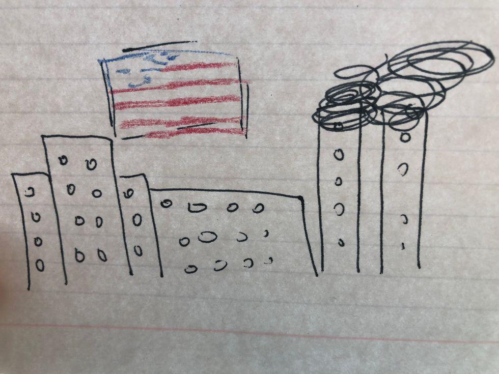 Survivor's Guilt Of 9/11
