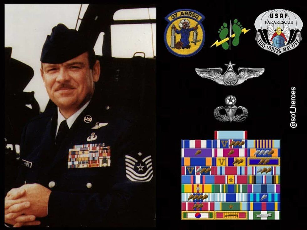 This Pj Is The Most Decorated Enlisted Airman In History We Are