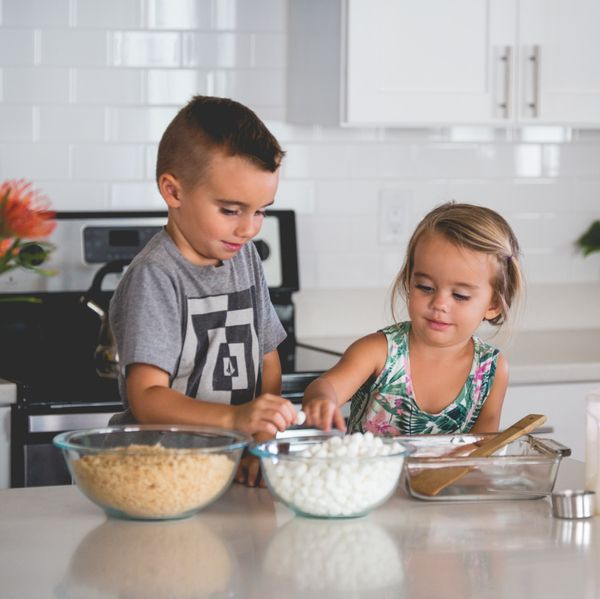 Cooking with toddlers isn't easy, but it teaches them independence