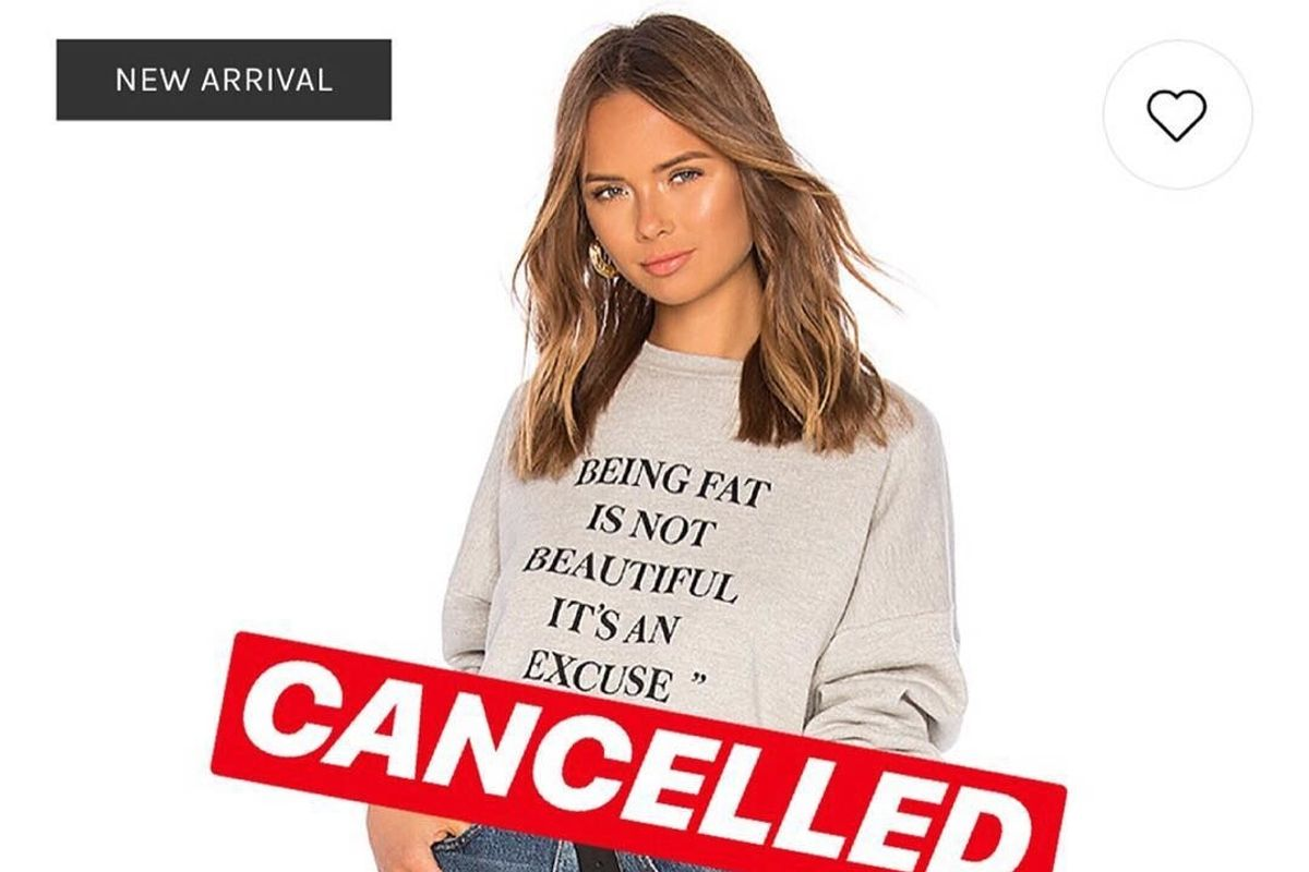 LPA Debuts and Immediately Apologizes for Fatphobic Sweatshirt Campaign