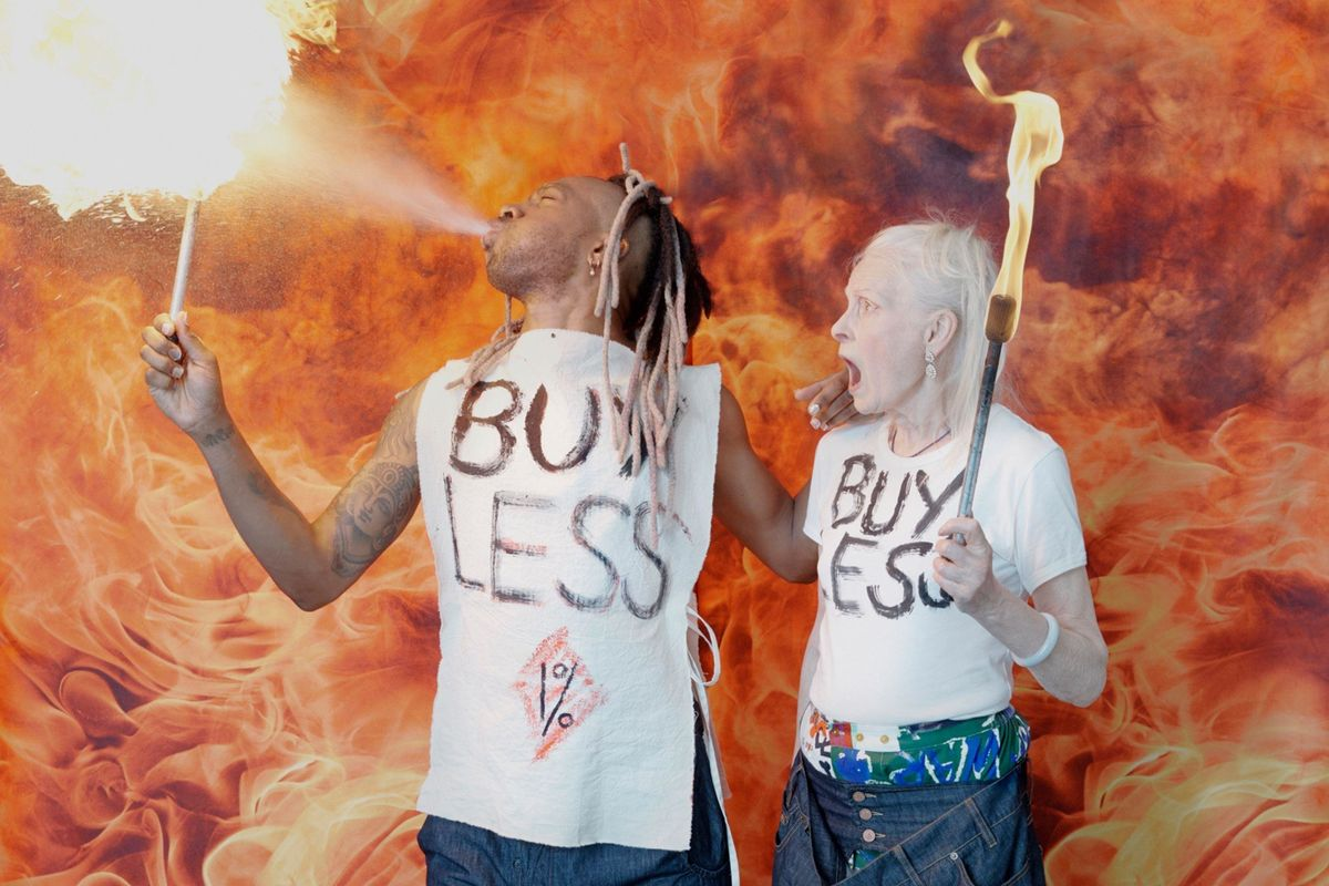 Vivienne Westwood Wants You to 'Buy Less'