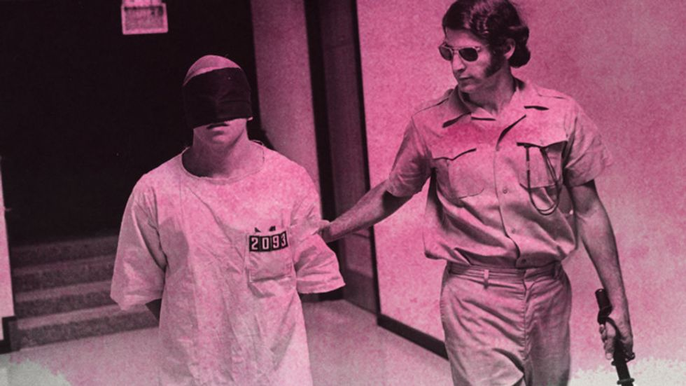 The Stanford Prison Experiment photograph. Was it all a scam?