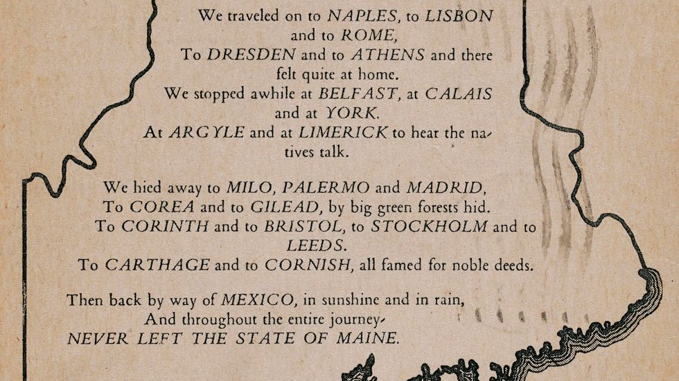 From Rome to Athens, and from Korea to Mexico: Maine has it all.
