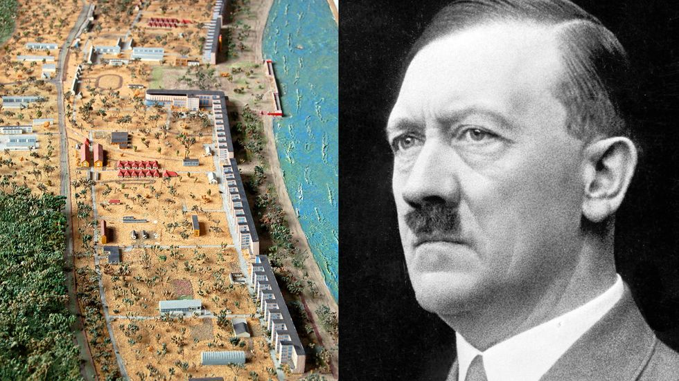 Hitler/model of Prora