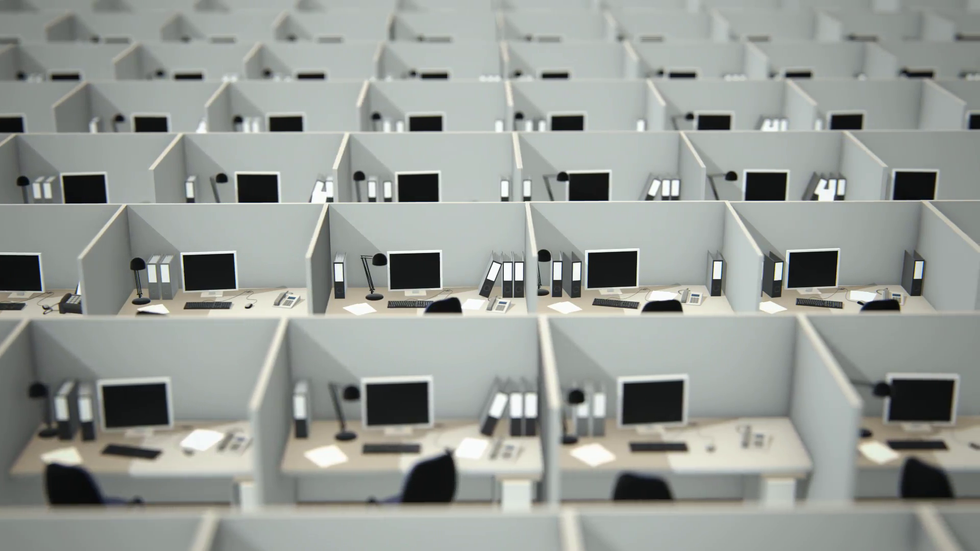 office cubicles endless