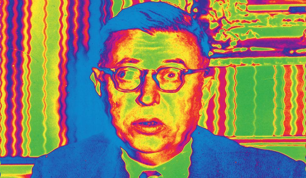 Psychedelic Sartre