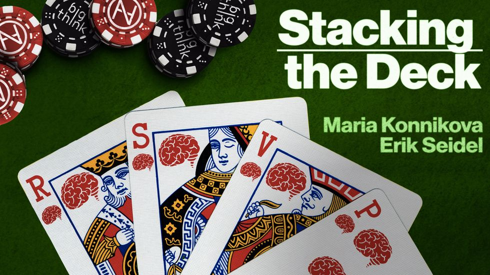 Maria Konnikova, journalist and poker player, joins Erik Seidel and Big Think in NYC on August 1!