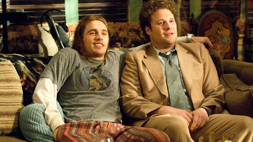 James Franco and Seth Rogen stoned in Pineapple Express