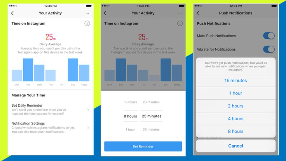 Facebook and Instagram launch 'wellness dashboard' to help users combat app addiction