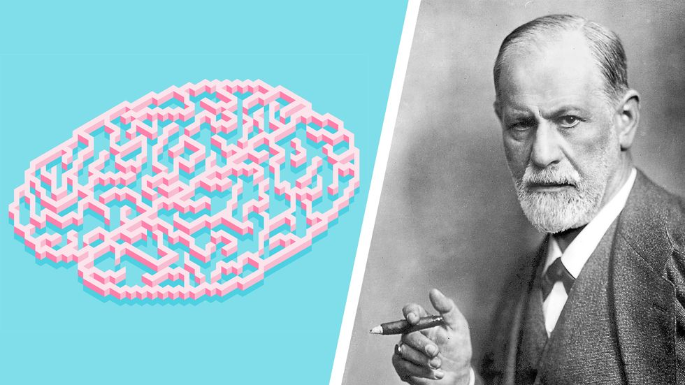 The Mind is Flat, and Freud.