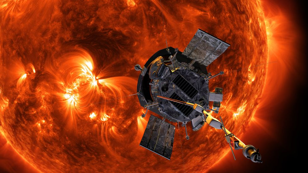 NASA's Parker Solar Probe is attempting to touch the sun