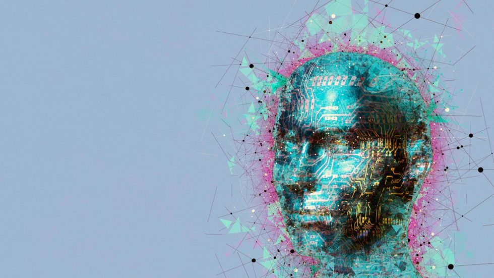 An artist's depiction of humanoid artificial intelligence (MEHAU KULYK/SCIENCE PHOTO LIBRARY/GETTY)