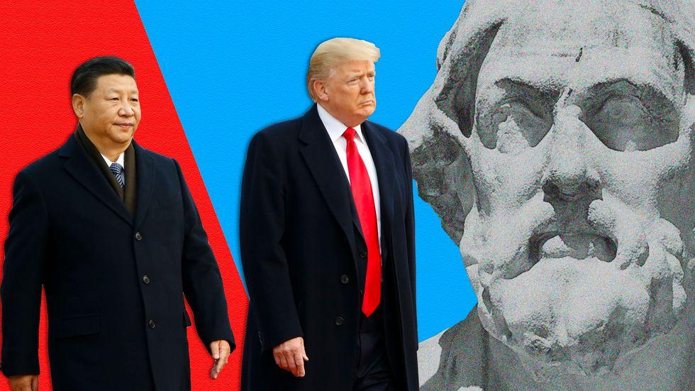 Thucydides, Donald Trump, Xi Jinping