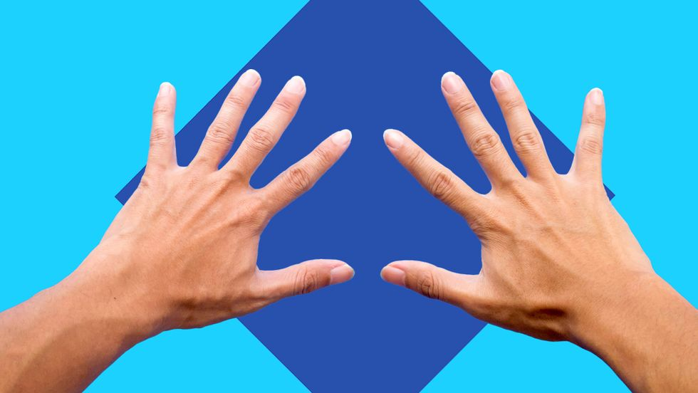 Why are some people left-handed? (Image: Shutterstock/Big Think)
