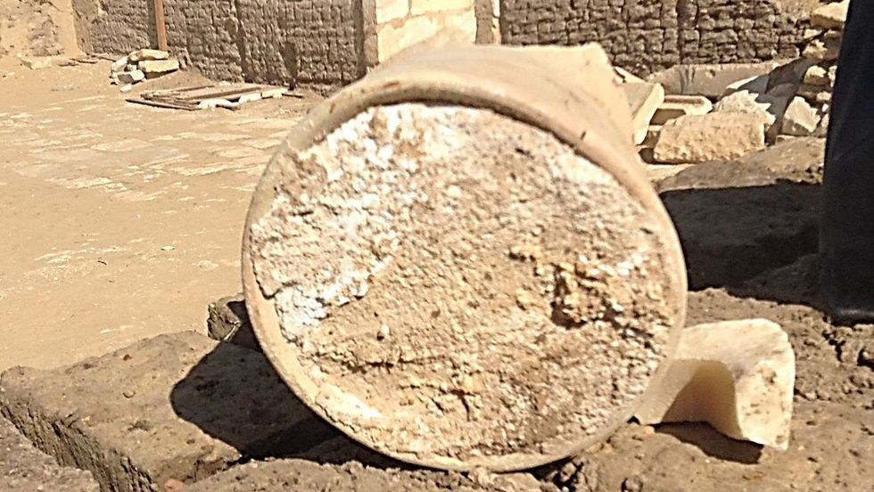 Archaeologists discover 3,200-year-old cheese in ancient Egyptian tomb