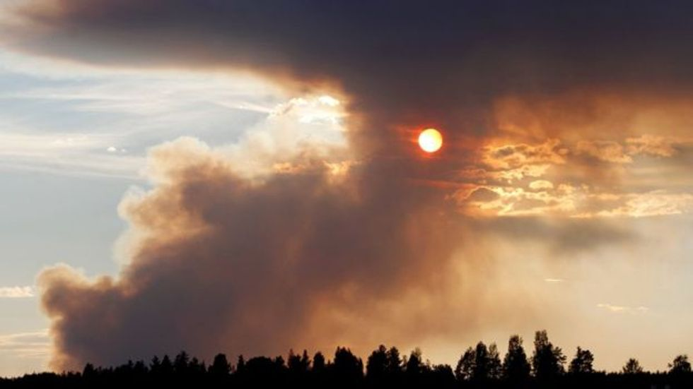 Wildfires in the Arctic Circle spell the stark new reality of global warming