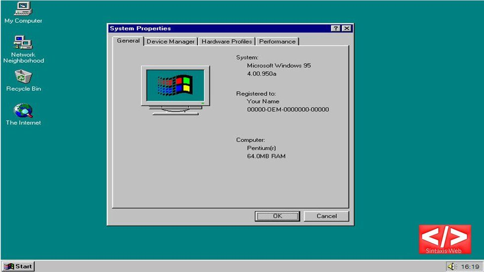 Download Windows 95 app for free, fun nostalgia hit - Big Think