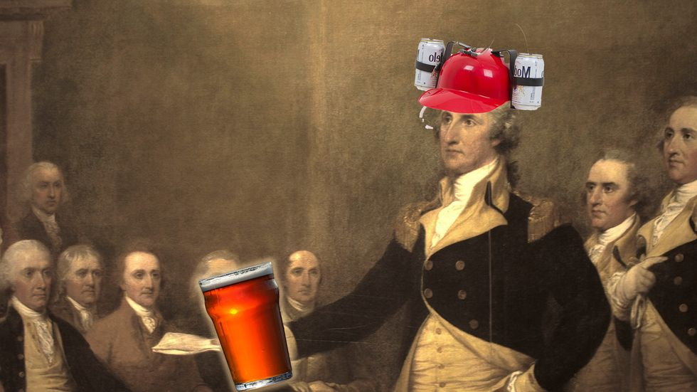 How drunk were the Founding Fathers? Revolutionary-era Americans could drink you under the table.