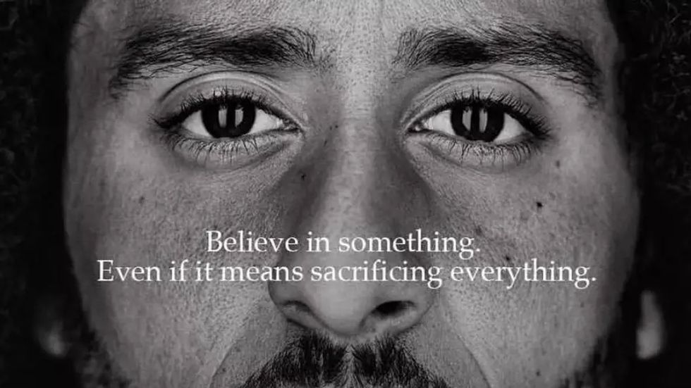 Colin Kaepernick for Nike, Just Do It campaign.
