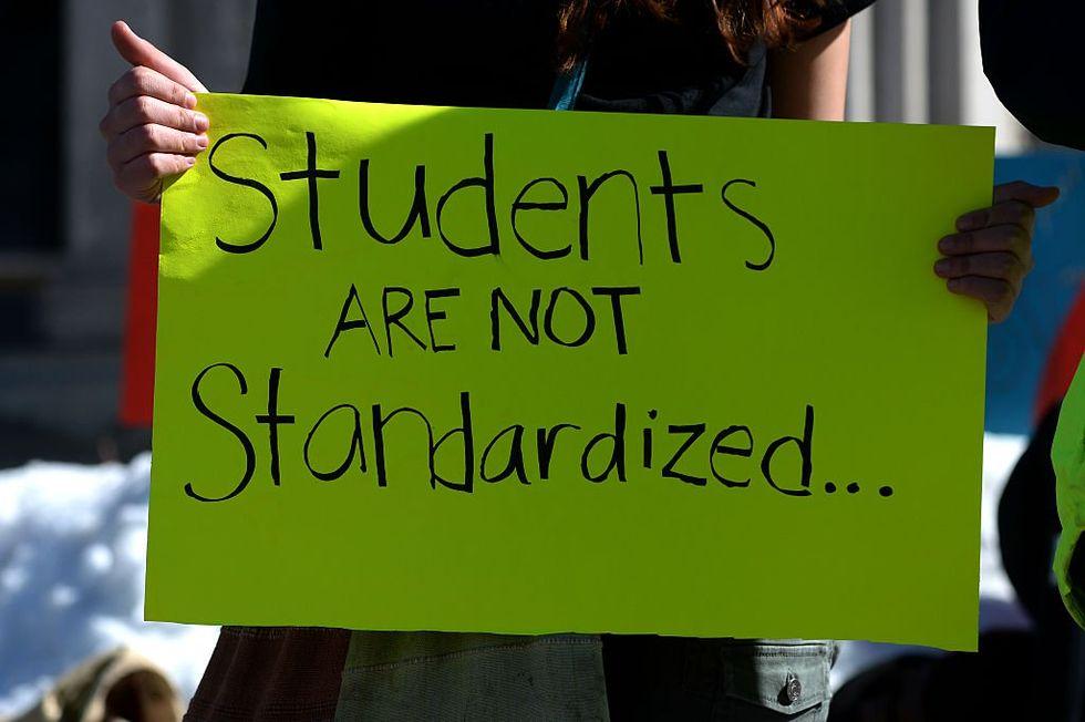 Image result for no standardized testing