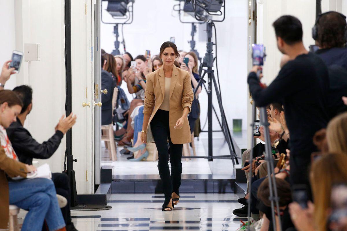 Victoria Beckham Makes Her London Fashion Week Debut