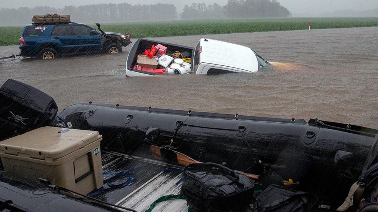 18 Dead, More Than 900 Rescued as Florence Floods the Carolinas