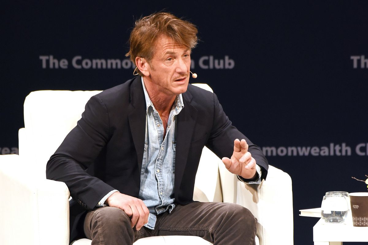 Sean Penn Says Bizarre Things About #MeToo