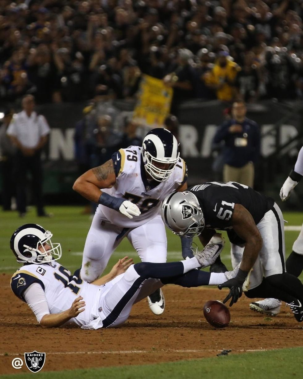Raiders Disappoint Week 1 Against Rams
